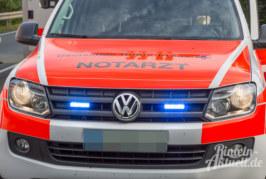 Extertalstraße: Motorradfahrer (31) bei Unfall schwer verletzt