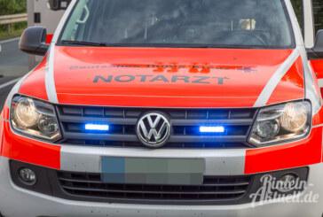 Kleinenbremen: Mann verletzt eigene Frau beim Ausparken