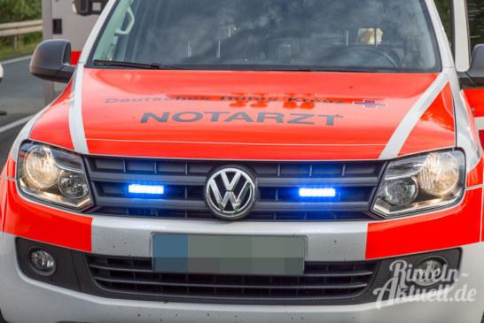 A2 bei Rehren: Auffahrunfall mit vier Autos, ein Todesopfer