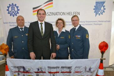 """""""MdB trifft THW"""": Technisches Hilfswerk zu Besuch in Berlin"""