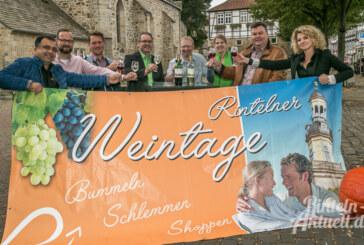 Schlemmen und genießen bei den Rintelner Weintagen vom 30.9. bis 3.10.2016