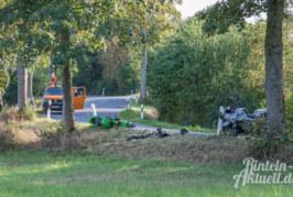 Schwerer Motorradunfall bei Wennenkamp