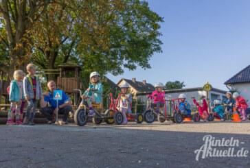Früh übt sich: Verkehrssicherheitstag im Comenius-Kindergarten