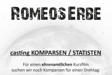 """""""Romeos Erbe"""": Ehrenamtliches Filmprojekt sucht Komparsen für Dreh in Rinteln"""