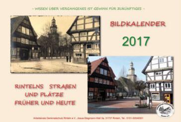 Neuer Kalender: Arbeitskreis Denkmalschutz zeigt Rinteln, wie es früher aussah