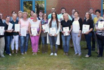 BBS Rinteln: Erfolgreicher Abschluss der 4. Praxisanleiter-Ausbildung