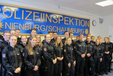 Sieben neue Polizeikräfte für Rinteln