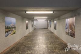 Rinteln-Motive statt Ruinen: Bahnhofsunterführung in der Nordstadt verschönert