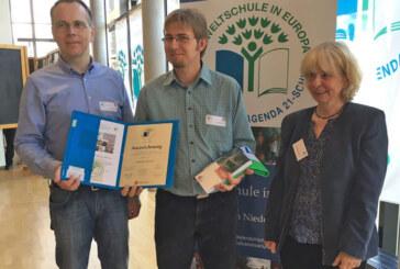 Gymnasium Ernestinum Rinteln erneut als Umweltschule in Europa ausgezeichnet