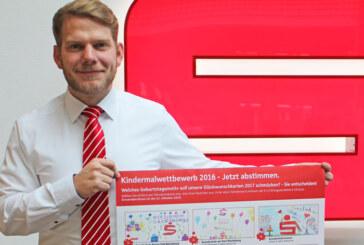 Jetzt abstimmen: Favoriten des Sparkassen-Kindermalwettbewerbs 2016 wählen