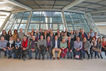 AWO Schaumburg zu Besuch im Deutschen Bundestag