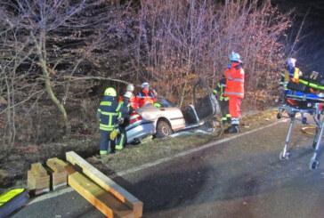 Feuerwehren Bückeburg im Dauereinsatz bei Unfall und Containerbrand