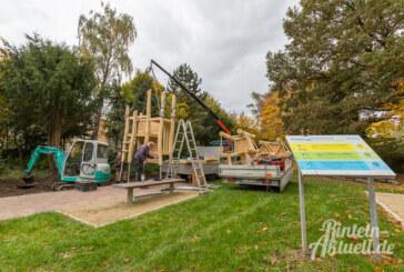 Neues Spielgerät im Generationenplatz Kapellenwall