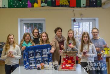 Niete kann der Hauptgewinn sein: Schüler der Hildburgschule bereiten Losverkauf im Mehrgenerationenhäuschen vor