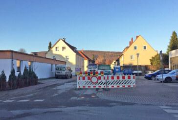 Vollsperrung der Krönerstraße ab Donnerstag