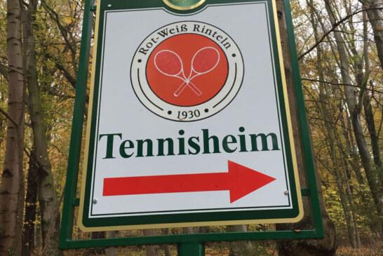 """""""Deutschland spielt Tennis"""" und Tag der offenen Tür: Saisoneröffnung beim Tennisverein Rot-Weiß Rinteln"""