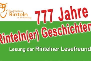 777 Jahre Rintelner Geschichten mit den Rintelner Lesefreunden