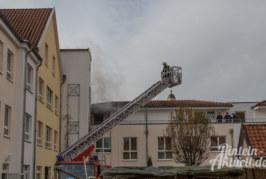 """Feuer in Senioren-Wohnanlage """"Alte Feuerwehr"""" Rinteln: 43 Menschen evakuiert"""