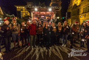 Weihnachten kann kommen: Rintelner Adventszauber 2016 feierlich eröffnet