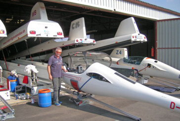 Rintelner Segelflieger am Himmel über Australien