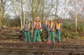 Projekt der Rintelner Lebenshilfe-Werkstätten mit der Bückebergbahn Rinteln-Stadthagen GmbH