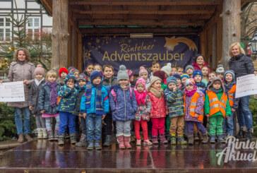 Spende, Stiefel und Süßes: 340 Euro für Comenius Kindergarten und Grundschule Nord