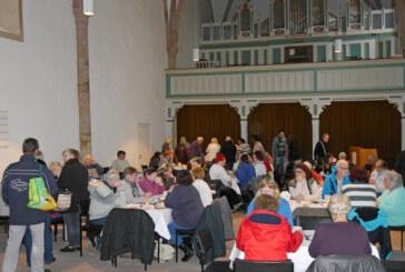 Festessen in historischem Gemäuer: Brunch in der Jakobi-Kirche