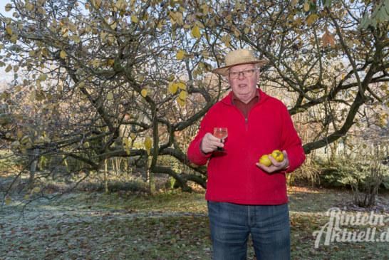 Steinberger Südhang: Herbert Fischbecks Quitten-Glühwein auf dem Rintelner Weihnachtsmarkt