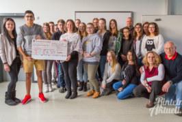 BBS-Schüler sammeln 2.600 Euro für ambulante Kinderhospizarbeit in Rinteln