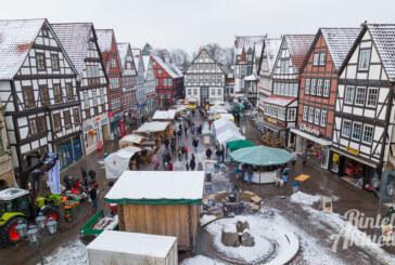 Rintelner Marktsaison 2019 startet mit dem 11. Brennholz- und Bauernmarkt