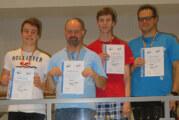 Drei erste Plätze für DLRG Ortsgruppe Rinteln bei Bezirksmeisterschaften