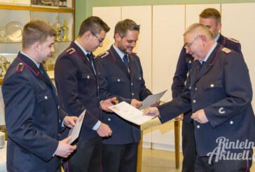"""Der """"Neue"""" ist der """"Alte"""": Ortsbrandmeister der Feuerwehr Hohenrode im Amt bestätigt"""