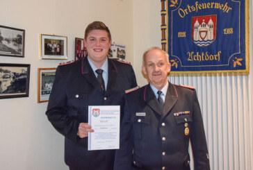 Feuerwehr Uchtdorf: Mit Eigenleistung und Engagement ins neue Jahr