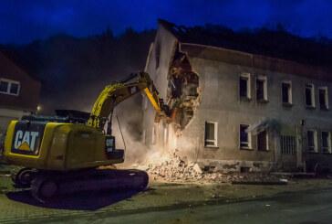 Nach Brand in Porta Westfalica: Haus wird abgerissen