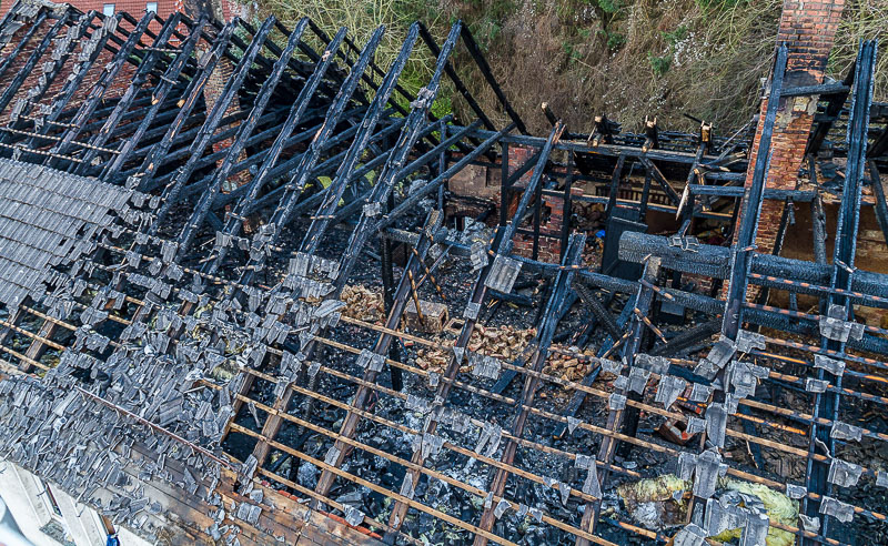02 rintelnaktuell wohnhausbrand porta b482 abriss dachstuhl