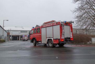 Feuerwehreinsatz nach Wannendurchbruch in Rintelner Glashütte