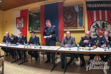 Neuer Wanderpokal und Wahlen bei der Ortsfeuerwehr Strücken