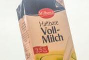 Milch-Rückruf bei LIDL: Gefahr von Lebensmittelvergiftung