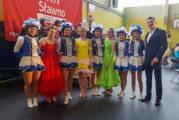Rintelner Fürstengarde und Tanzmariechen Alina Schröder begeistern Publikum in Slawno