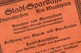 Wer besitzt das älteste Werbegeschenk der Sparkasse Schaumburg?