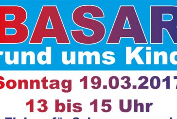 """Basar rund ums Kind am 19. März in der Kita """"MinniMax"""" in Exten"""