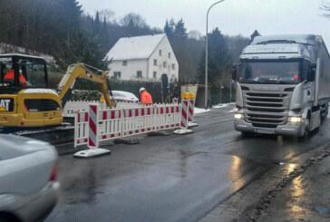 Staus in Steinbergen: Trinkwasserleitung wird erneuert