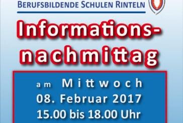 Mittwoch: Info-Nachmittag in der BBS Rinteln
