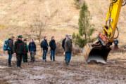 Große Baumaschinen und kleine Gelbbauchunken bei NABU Seminar