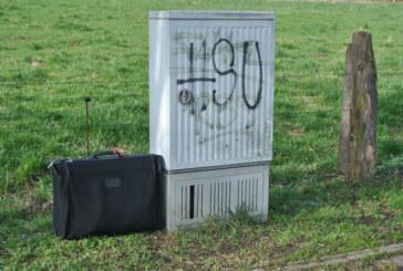 Herrenloser Koffer ruft Sprengstoff-Spezialisten der Polizei auf den Plan