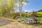 Feiern wie in Schweden: Mittsommernacht auf der Draisine