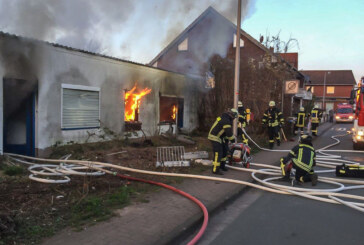 Feuer in der Friedrichstraße: Polizei sucht vier Jugendliche als mögliche Brandstifter