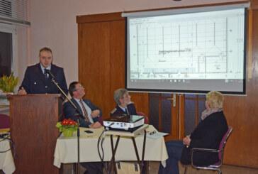 Gemeinsame Vorfreude auf neues Feuerwehrhaus bei der Ortsfeuerwehr Schaumburg