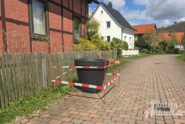Steinbergen: Blumenkübel für die Bachstraße