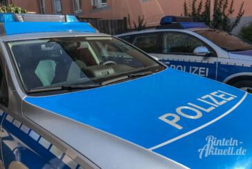 Polizeibericht aus dem Auetal: Treckergewichte gestohlen, Gartenlaterne getreten